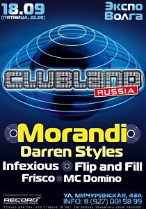 CLUBLAND LONDON - RUSSIA