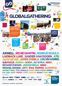 GLOBAL GATHERING Freedom Music RUSSIA 2011